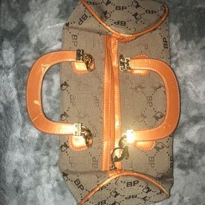 Baby phat orange purse